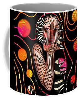 Mask Of The Sea Coffee Mug