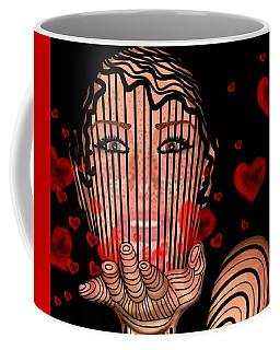 Mask Of Valentine Coffee Mug