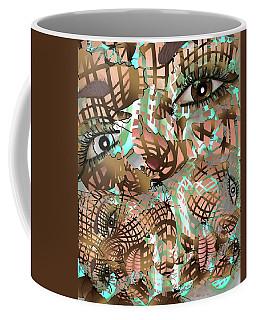 Mask Past Present Future Coffee Mug