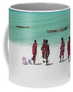 Massai At The Beach Coffee Mug