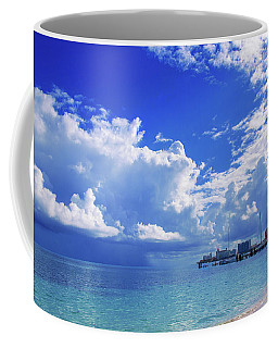 Massive Caribbean Clouds Coffee Mug