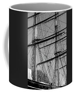 Masts And Rigging Of The Cutty Sark Coffee Mug