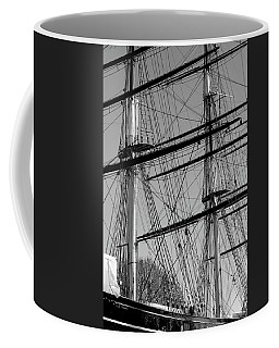 Masts And Rigging Of The Cutty Sark Coffee Mug