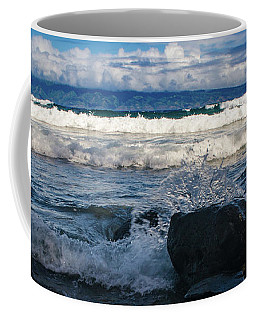 Maui Breakers Pano Coffee Mug