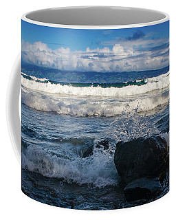 Maui Breakers Pano Coffee Mug