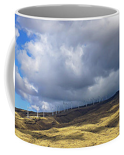 Maui Windmills Wide Coffee Mug