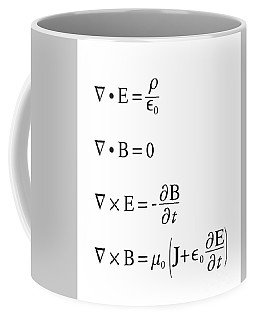 Maxwell's Equations Coffee Mug