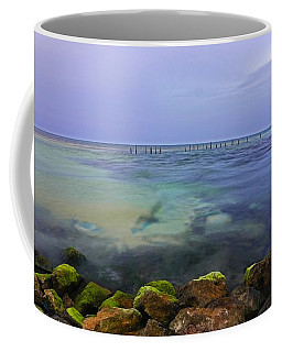Mayan Sea Rocks Coffee Mug