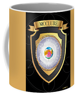 Mcclure Family Crest Coffee Mug