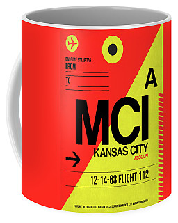 Mci Kansas City Luggage Tag I Coffee Mug
