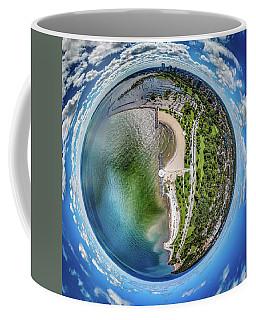 Coffee Mug featuring the photograph Mckinley Park Little Planet by Randy Scherkenbach
