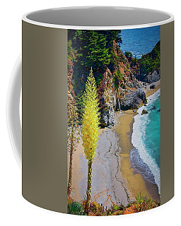 Mcway Falls With Blooming Yucca Coffee Mug