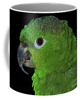 Coffee Mug featuring the photograph Mealy Amazon by Debbie Stahre