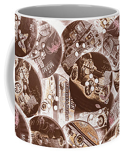 Mechanical Patchwork Coffee Mug