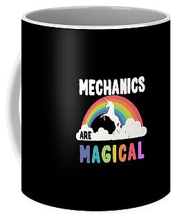 Coffee Mug featuring the digital art Mechanics Are Magical by Flippin Sweet Gear