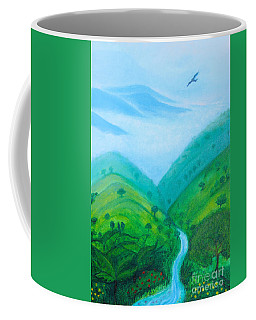 Coffee Mug featuring the painting Medellin Natural by Gabrielle Wilson-Sealy