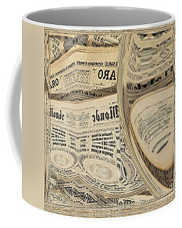 Coffee Mug featuring the mixed media Media by A zakaria Mami