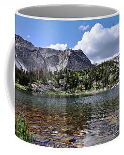 Medicine Bow Peak And Mirror Lake Coffee Mug