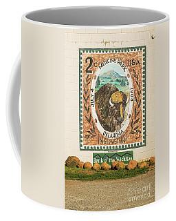 Medicine Park Stamp Mural Coffee Mug