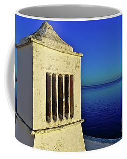 Mediterranean Chimney In Algarve Coffee Mug