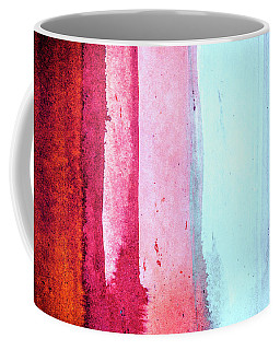 Melting Winter - Colorful Abstract Landscape Painting Coffee Mug