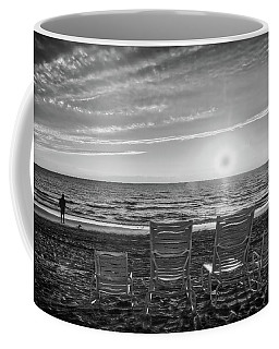 Coffee Mug featuring the photograph Memories In Black And White by Lynn Bauer