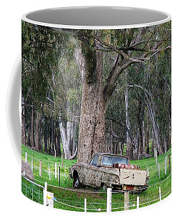 Coffee Mug featuring the photograph Memories Of The Farm by Joan Stratton