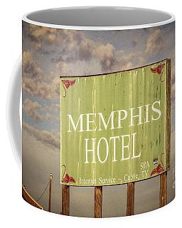 Memphis Hotel Sign Coffee Mug