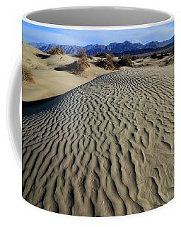 Mesquite Flat Sand Dunes Grapevine Mountains Coffee Mug