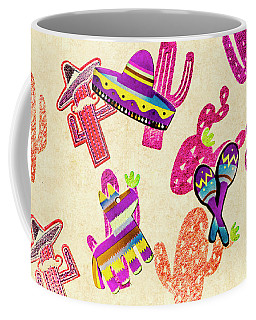 Mexican Mural Coffee Mug