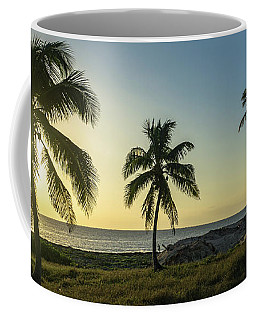 Mexico Palm Tree Sunrise Coffee Mug