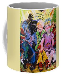 Miami Bench Coffee Mug