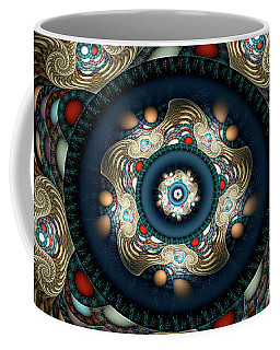 Coffee Mug featuring the digital art Micah by Missy Gainer