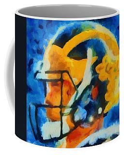 Michigan Football Helmet Coffee Mug