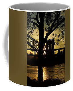 Mid Autumn Silhouette Coffee Mug