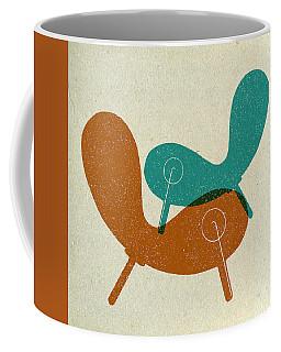 Mid Century Chair Collage II Coffee Mug