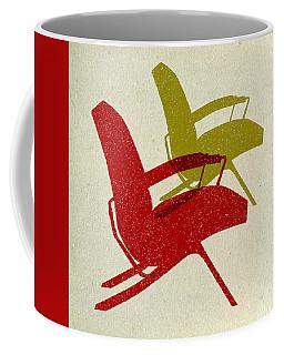 Mid Century Chairs Design  Coffee Mug