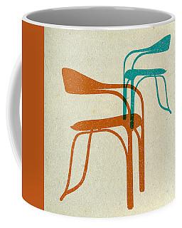 Mid Century Chairs Print 3 Coffee Mug