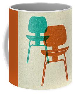 Mid Century Chairs Print I Coffee Mug