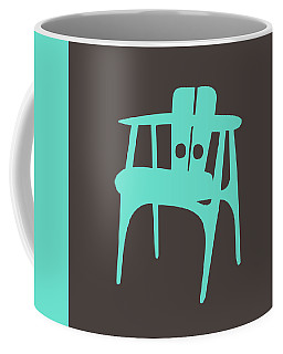 Mid Century Modern Chair II Coffee Mug