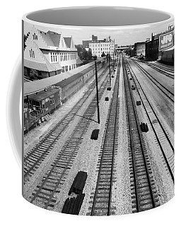 Middle Of The Tracks Coffee Mug