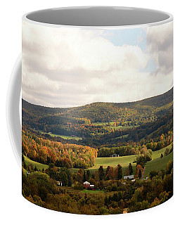 Coffee Mug featuring the photograph Middleburg In New York by Angie Tirado