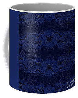 Coffee Mug featuring the digital art Midnight Blue by Rachel Hannah