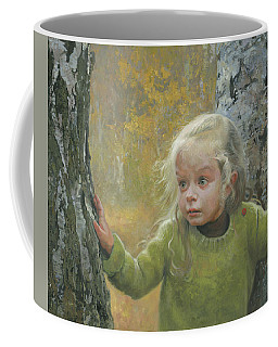 Mila Between Two Birches Coffee Mug