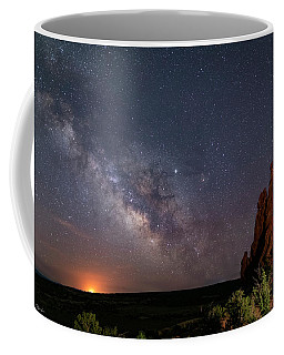 Milky Way At Navajo Rocks Coffee Mug