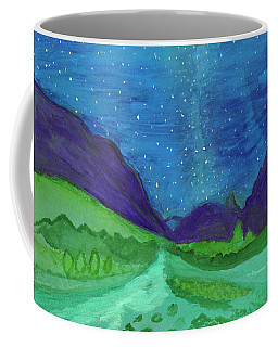 Coffee Mug featuring the painting Milky Way by Dobrotsvet Art
