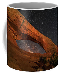 Milky Way Framed By Wilson Arch Coffee Mug