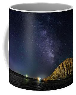 Milky Way Over Morro Rock Coffee Mug