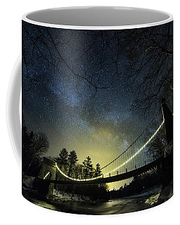Milky Way Over The Wire Bridge Coffee Mug