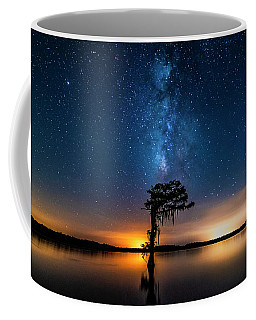 Coffee Mug featuring the photograph Milky Way Swamp by Andy Crawford
